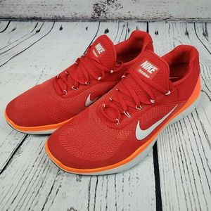 Nike Free Trainer V7 Cross Training Crimson Red